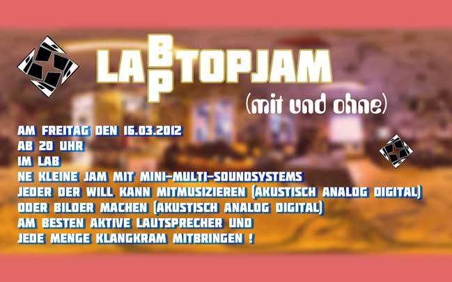Laptopjam 2012