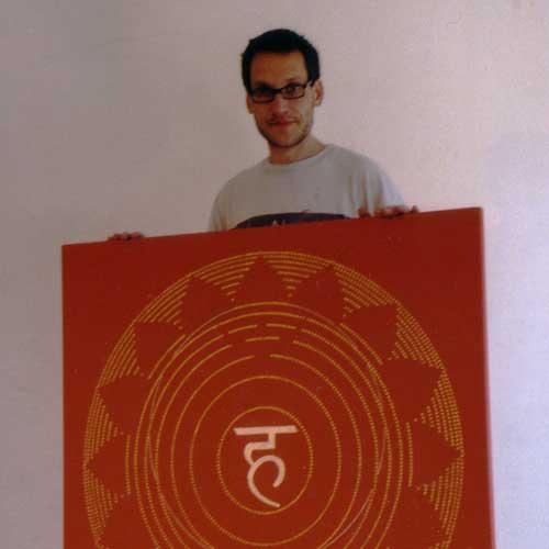 Chakra-Mandala 5 mit Künstler