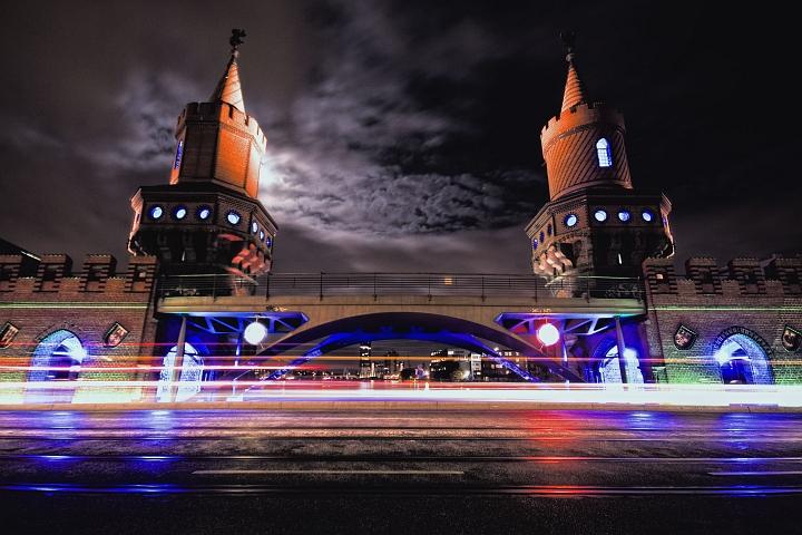 Foto der Berliner Oberbaumbrücke