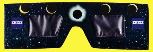 meine alte Sonnenfinsternisbrille von 1999