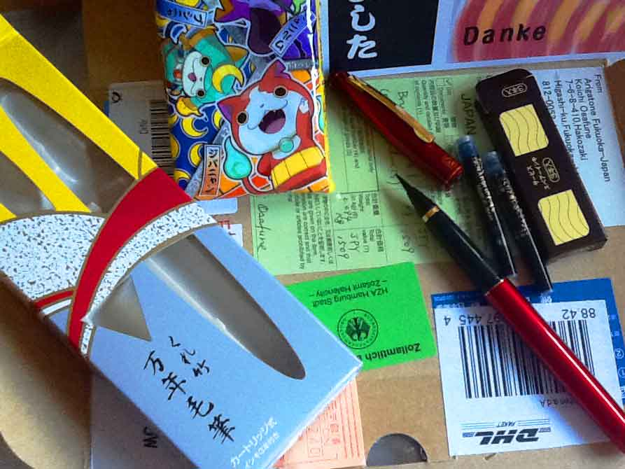 Inhalt des Paketes