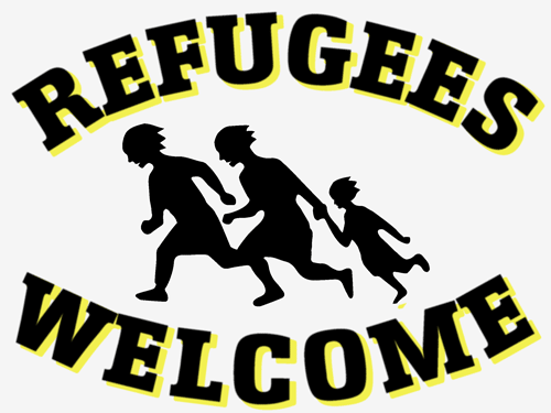 Logo: Refugees Welcome